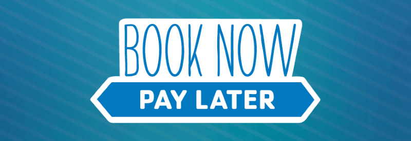 Book now and pay later